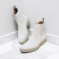 The Sand Crepe Chelsea Boots Please visit www.orolosangeles.com to sign for our newsletter and get updates regarding this release
