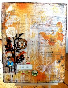 mixed media canvas