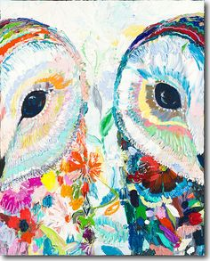 Night and Day Owl by Starla Michelle Halfmann