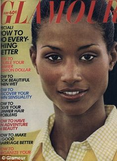 models Beverly Johnson was no dummie. Earned Silver Honor Roll Pin was all brains! She just happened to be graced with beauty too. Patti Hansen, Lauren Hutton, Black Supermodels, Original Supermodels, African American Models, American History, African Women, Beverly Johnson, Black Magazine