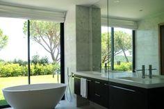 Freistehenden Badewanne / Villa mit sagenhaftem Meerblick über den Pampelonne