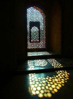 Window in 11 century Mosque by ToSStudio, via Flickr