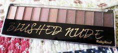 La Vie: Paleta de sombras Blushed Nude - Ruby Rose