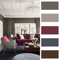 House interior living room paint colors 28 ideas for 2019 Interior Design Living Room, Living Room Designs, Living Room Decor, Interior Paint, Room Paint Colors, Paint Colors For Living Room, Living Room Color Schemes, House Colors, Colorful Interiors