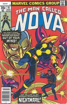 Man Called Nova # 18 by Carmine Infantino & Joe Sinnott