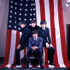 The Beatles - America fell in love with these music men 50 years ago... And we still love them!