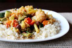 Naturalna kuchnia wegetariańska: Ryż z warzywami w sosie orzechowym