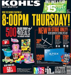 Kohl's 2013 Black Friday Ad