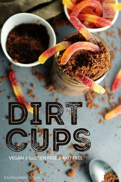 Dirt cups are a chil