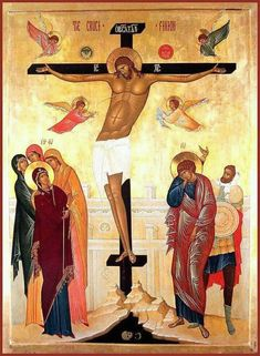 Great and Holy Friday - Orthodox Church in America Religious Symbols, Religious Art, Anima Christi, Holy Friday, Renaissance Time, Images Of Christ, Russian Icons, Biblical Art, Byzantine Icons
