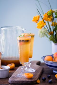 If you're searching for a bubbly, refreshing, alcohol-optional beverage to enjoy during the summer months, look no further than this Blueberry Apricot Lemon Verbena Shrub.