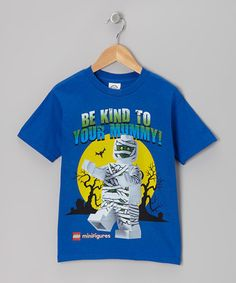 Another great find on #zulily! Blue 'Be Kind to Your Mummy' LEGO Minifigures Tee - Kids #zulilyfinds