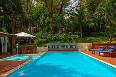 The pool at Etnia Pousada & Boutique.  25 Rua Principal; 011-55-73-3668-1137; rooms from $290/night; etniabrasil.com.br