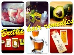 Remedies for brittle hair