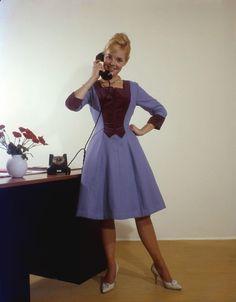 Secretary - 1960 Photo By Walter Blum
