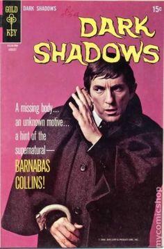 Dark Shadows - Gold Key comic Vintage Comic Books, Vintage Tv, Vintage Comics, Vintage Horror, Vintage Stuff, Dracula, Dark Shadows Tv Show, Nostalgia, Horror Comics