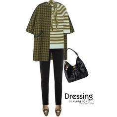 """""""Coat by LOUIS VUITTON"""" by fashionmonkey1 on Polyvore"""