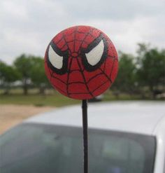 Spider-Man Car Antenna Ball