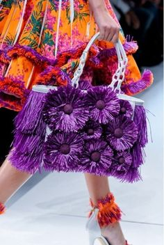 Sparkle of Lilac Unique Purses, Unique Bags, Knitted Poncho, Knitted Bags, Only Fashion, Fashion Bags, Barbie Mode, Crochet Handbags, Beaded Bags
