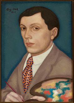 Eugeniusz Zak (Pologne, 1884-1924) –Autoportret (1911) Muzeum Narodowe w Warszawie, Varsovie