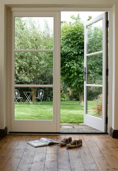 french doors \ french doors ` french doors patio ` french doors interior ` french doors bedroom ` french doors to deck ` french doors living room ` french doors with screens ` french doors patio exterior Bifold French Doors, Aluminium French Doors, Double French Doors, French Doors Bedroom, French Doors Patio, Bedroom Doors, Exterior French Doors, Double Patio Doors, French Windows