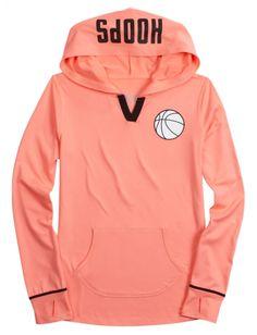 Justice basketball hoodie