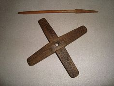 Turkey Antique Ottoman Handcrafted Spinning Drop Spindle w Wings Kirman T1   eBay