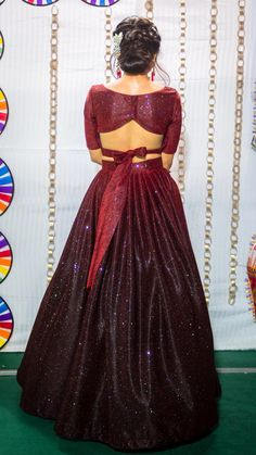 A-Line Wedding Dresses Collections Overview 36 Gorgeou… Choli Designs, Lehenga Designs, Kurta Designs, Saree Blouse Neck Designs, Fancy Blouse Designs, Kurti Designs Party Wear, Designs For Dresses, Bridal Blouse Designs, Lehnga Dress