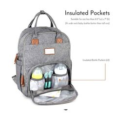 04c294d598f9 Large Capacity Multifunctional Baby Mommy Diaper Bag Backpack For Outdoor  Travel Bag Baby Diaper Bags
