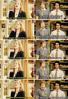 This very awkward conversation: | 22 Times The IT Crowd Was Actually The Funniest TV Show Ever