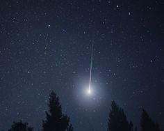 Fireball Meteor Like The One Pictured Was Spotted In Ireland On