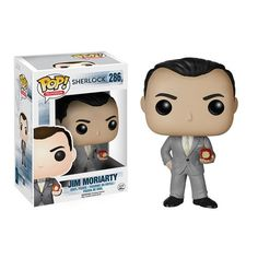 Pin for Later: These New Sherlock Funko Pop! Dolls Are Perfectly Adorable Jim Moriarty, the best nemesis ever.