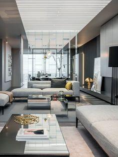 Show apartments 'Shades of Grey'   Ippolito Fleitz Group - Identity Architects