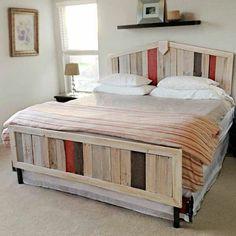 europaletten bett selber bauen diy schlafzimmer möbel