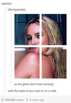 On Britney: