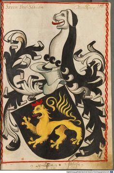 Scheibler'sches Wappenbuch Süddeutschland, um 1450 - 17. Jh. Cod.icon. 312 c  Folio 101