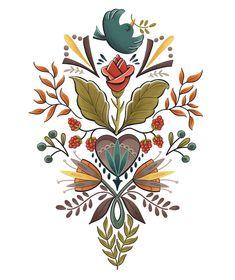 Illustrators On Instagram, Rooster, Colour, Illustration, Animals, Animales, Animaux, Color, Illustrations