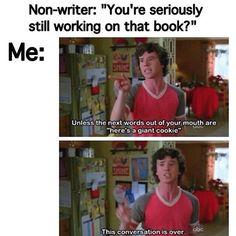 Writing humor, writer humor, humor for writers, humor about writing.
