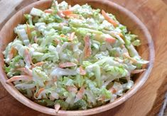 Chinese Cabbage Salad, Horseradish Sauce, Coleslaw, Lettuce, Cucumber, Salads, Fresh, Vegetables, Food