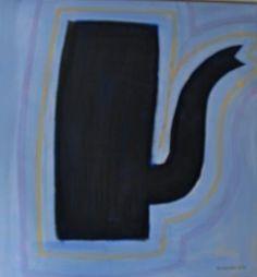 """De kleuren van de schilder - """" La Ribeyre""""- 2010 90 x 85 cm olie op doek"""