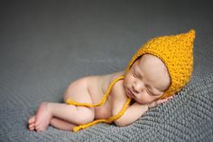 Pixie bonnet free crochet pattern by KT and the Squid