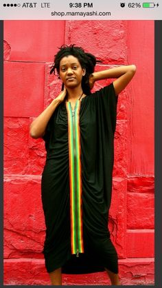 Mamayashi Ethiopian Angel Zip Dress is beautiful