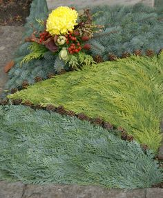 ProLuminate - Gräber im Herbst / Winter Heaven On Earth, Stepping Stones, Diy And Crafts, Outdoor Decor, Plants, Gardening, Chart, Painting, Canoe