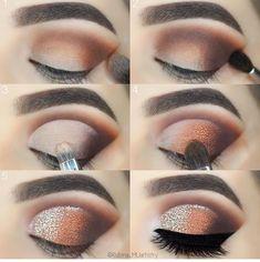Beautiful eye makeup from Rubina Artistry