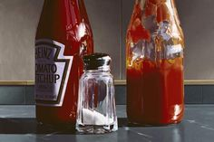 RALPH GOINGS Double Ketchup   2006   22 x 32.75   edition of 30