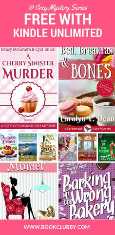 10 clean cozy mystery books to read worth adding to your book lists. Suitable for all the family and free with Kindle Unlimited.