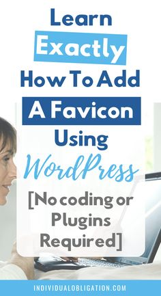 Learn how to create a blog favicon using WordPress even if you are a beginner blogger. These WordPress tips and tutorials for beginners will help you make your blog look like a pro from the start. With no coding or WordPress plugins required. Click here to learn how to make + add a website favicon to your WordPress blog. Plus blogging tips, ideas and inspiration for your logo favicon design + sizes. #WordPressTips #BloggingForBeginners #BlogTips #BloggingTips #HowToStartABlog #Favicon… Wordpress Help, Wordpress Plugins, Favicon Design, Web Design Tutorials, Creating A Blog, Blogging For Beginners, Blog Tips, How To Memorize Things, Coding