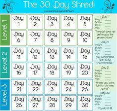 byRose: SPORT: THE 30 Day Shred