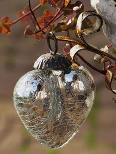 "My tree is filled with years of collecting ""heart"" ornaments...love this one!"