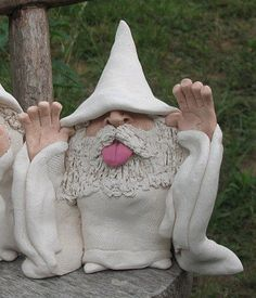 White Wizard Giving Raspberries by WhiteWizards on Etsy,